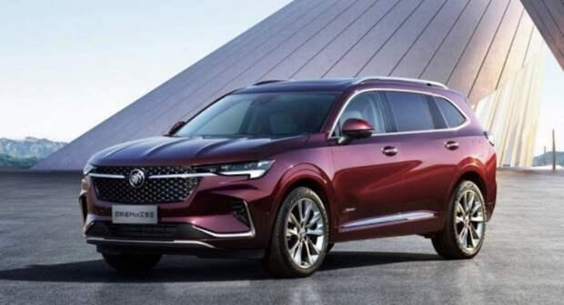 Buick представил кроссовер Envision Plus и седан Verano Pro