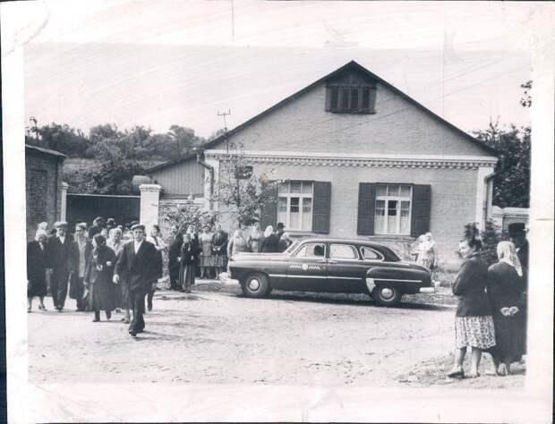 1961. Киев. Евангелическая баптистская церковь