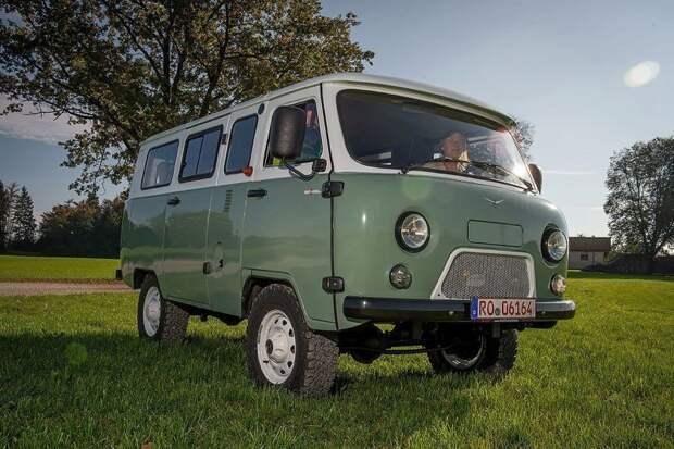 Фотобонус УАЗ-452, авто, автомобили, буханка, германия, тест-драйв, уаз, уаз буханка