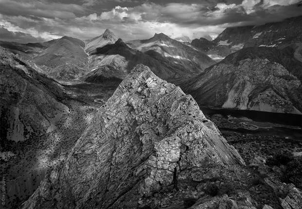 bnwmountains02 Черно белые фотографии гор