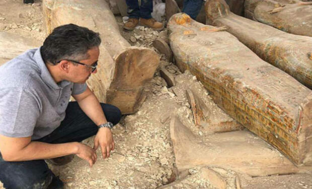 20 саркофагов возрастом 5000 лет: находка в египетской пустыне