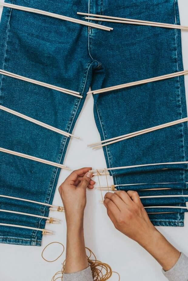 Не спешите выкидывать старые джинсы