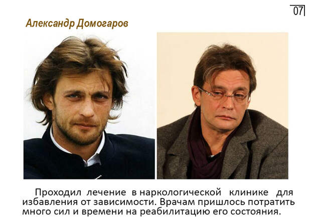 Знаменитые Российские алкоголики