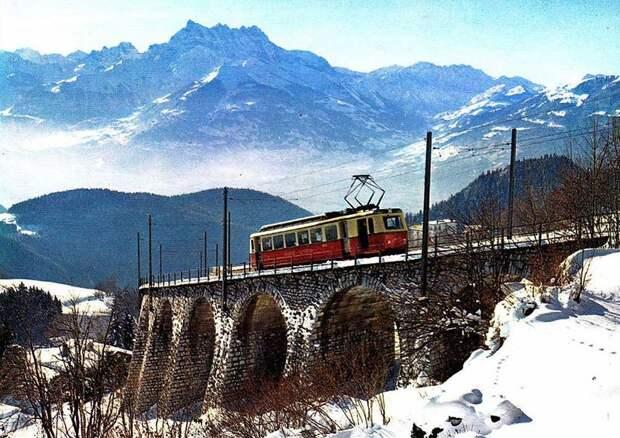 Chbahns01 Топ 5 самых необычных железных дорог Швейцарии