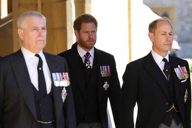 Принц Гарри отношения с принцем Уильямом