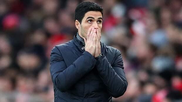 Артета шокирован разгромом от «Ливерпуля»
