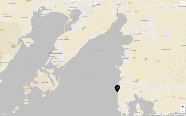 Карта порта Вера