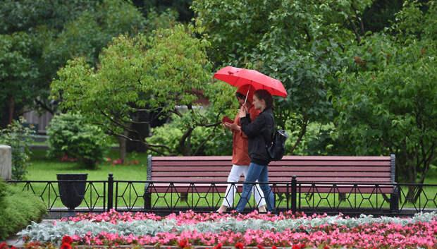Небольшие дожди ожидаются в Московском регионе на неделе