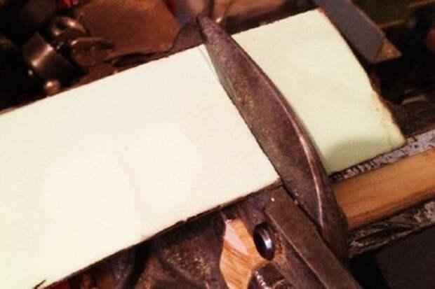Как сделать мягкие и съемные накладки для тисков