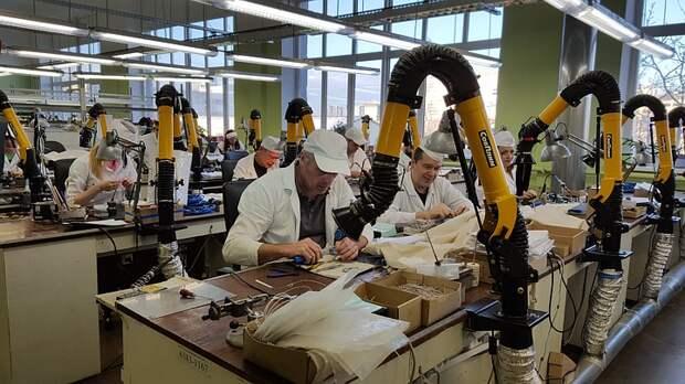 В Москве растёт индекс промышленного производства