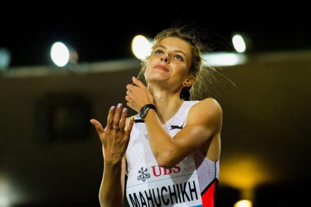 Украинская атлетка вновь сфотографировалась с россиянкой Ласицкене