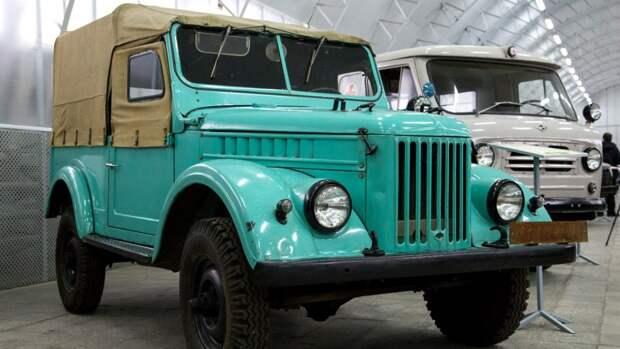 Советский внедорожник ГАЗ-69 продают в Нидерландах почти за 13 тыс. евро