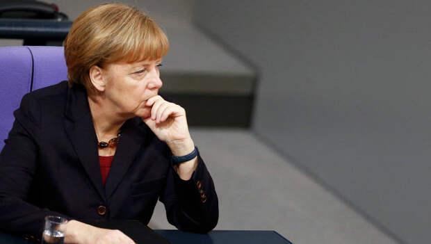 Канцлер ФРГ Ангела Меркель. 18 декабря 2014