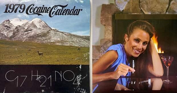 Кокаиновый календарь 1979: памятник эпохе, когда «порошок» был почти легальным