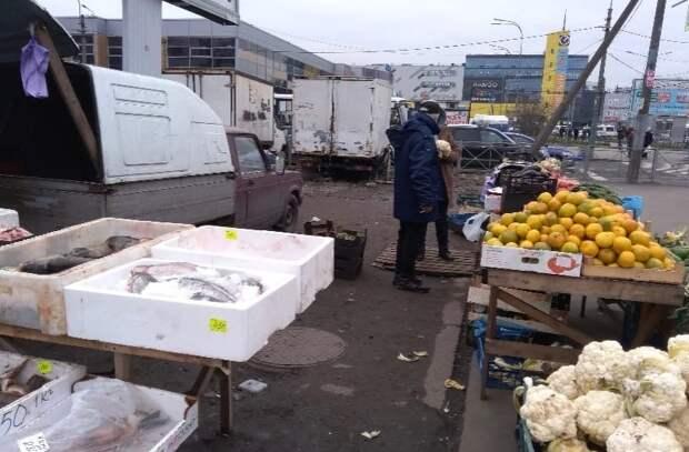 Незаконная торговля - главная проблема Невского района и основной источник дохода Гульчука