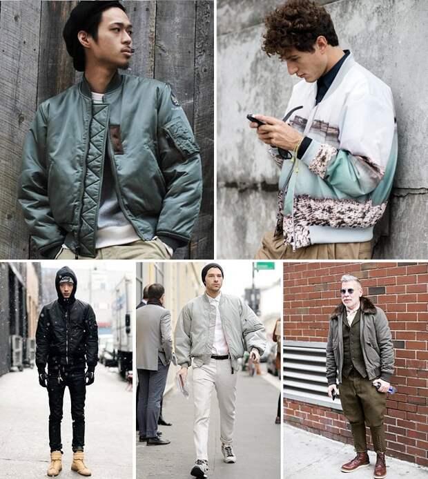 Бомберы и куртки пилотов: Кто их придумал и как их носить. Изображение №8.