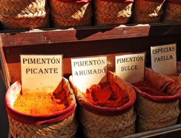 Испанская паприка пиментон