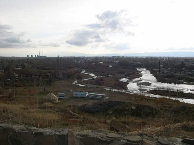 Река Таласс и окрестности сегодня.