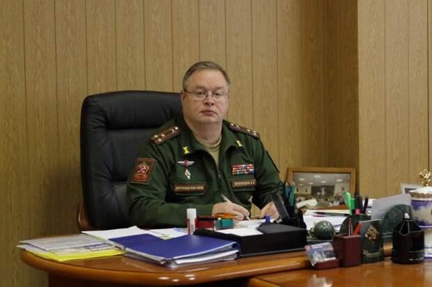 Военный комиссар Сергей Кузнецов. Фото: https://телеграм.net