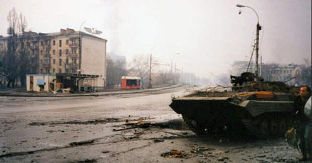 Бои за Грозный. Фото пользователя Vladimir Varfolomeev https://www.flickr.com