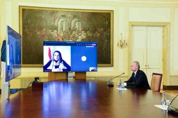 «Президент» Света хочет резиденцию и положила глаз на здание посольства Белоруссии в Литве