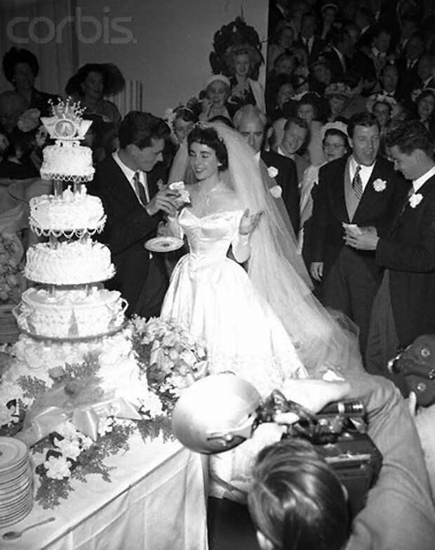 Первая свадьба Элизабет Тейлор (18 фотографий), photo:14