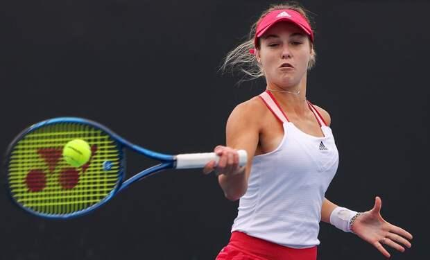 Калинская вышла в 1/4 финала турнира в Монтеррее