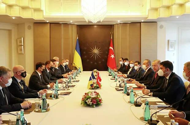 Планы на Крым. Зачем Британия и Турция помогают Украине