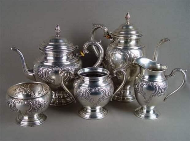 Использование серебряной посуды для лечения