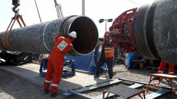 Строительство газопровода «Серверный поток – 2» завершено на 99%
