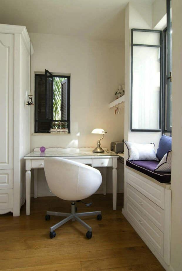 Комод с мягким сиденьем. | Фото: kidork.com.