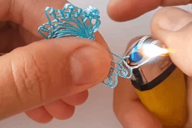 Кружево на вилке: уникальная техника плетения, которой захочется научиться
