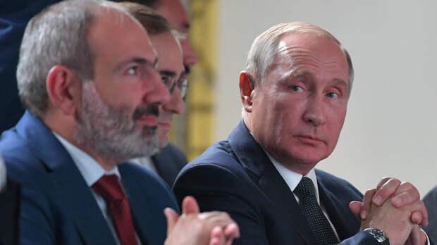 По оценкам наблюдателей, две десятиминутные встречи Владимира Путина и Никола Пашиняна в Ереване ограничились лишь протокольными фото- и видеосъемками