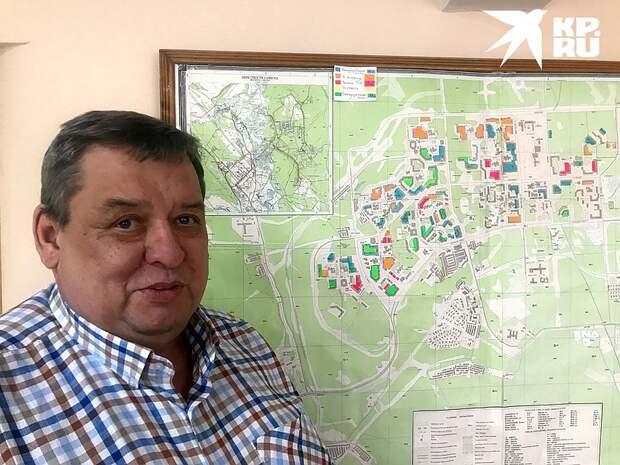 Мэр Саянска Олег Боровский Фото: Владимир ВОРСОБИН