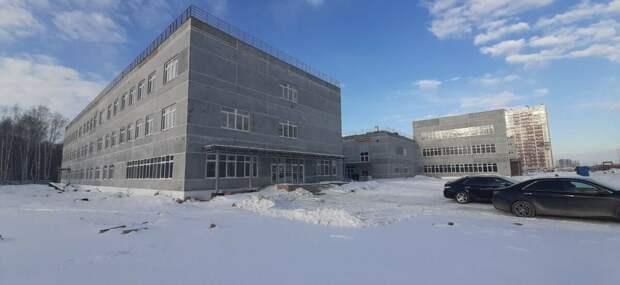 Школьная новостройка в Челябинске