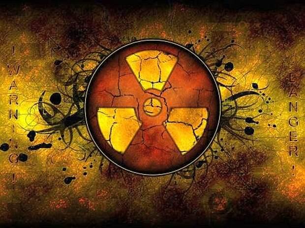 Человек умирает от радиации