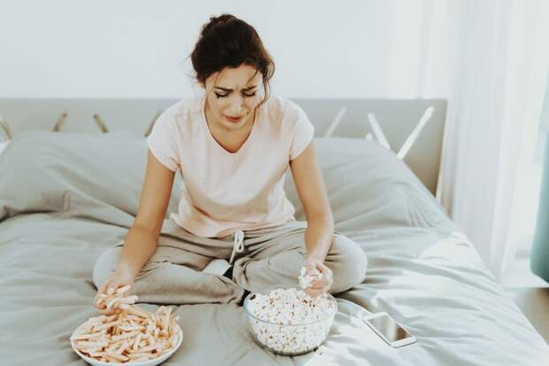 Во время депрессии слабо ощущаются жирные вкусы.