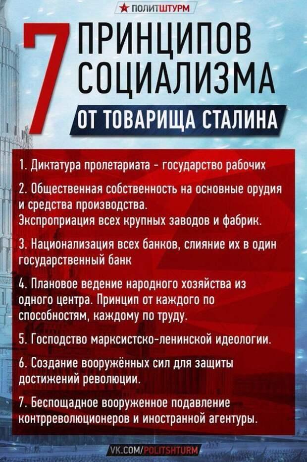"""Что такое """"социализм""""? Утопия? Недостижимая мечта? Или красивая замануха для людей распространяемая врагами России?"""