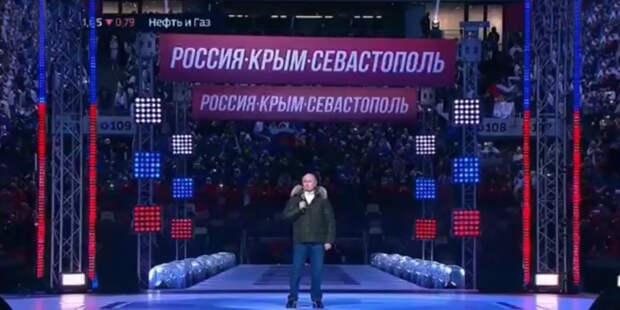 Путин провел мастер-класс Развожаеву по поздравлению с Крымской весной