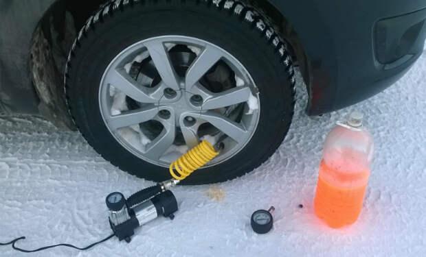 5 способов экономить бензин зимой по словам механика автосервиса. Достаточно подкачать колеса