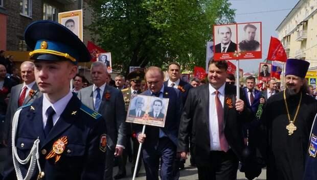 Глава Подольска рассказал о своих дедах, принимавших участие в ВОВ