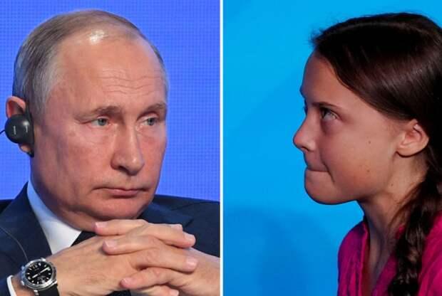 Путин раскрыл феномен Гретты Тунберг