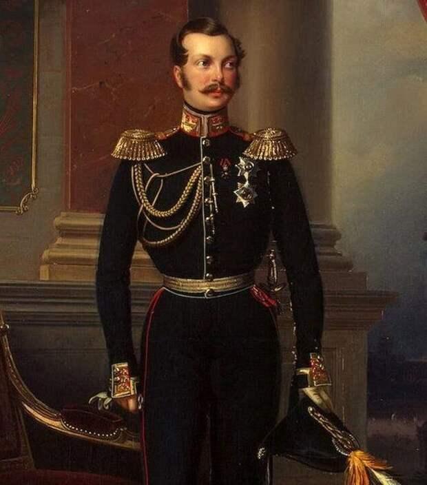 Великий князь Александр Николаевич, наследник русского престола.