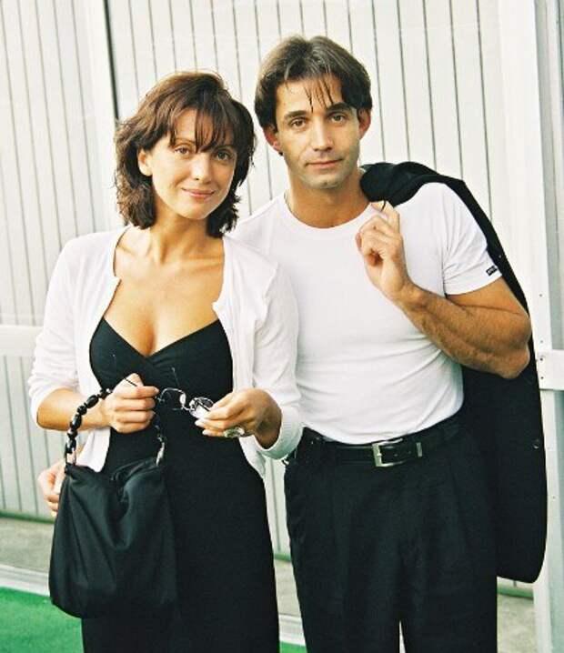 Ольга Дроздова и Дмитрий Певцов в 90-ые годы.