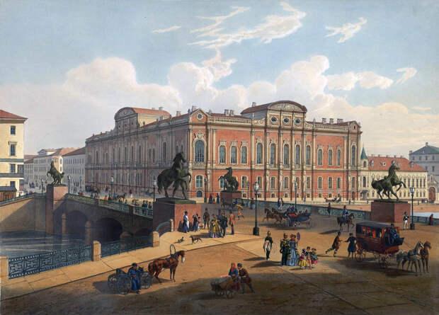 Аничков мост в XIX веке.jpg
