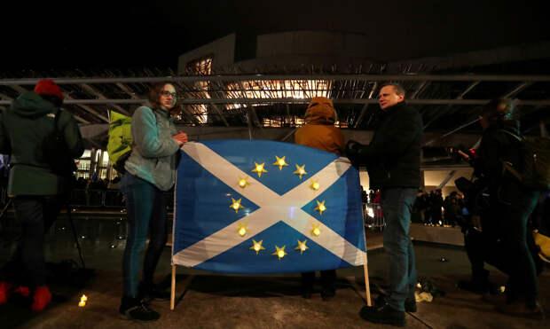 ЕС призвал вернуть Шотландию