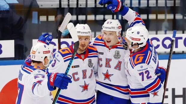 Гол Марченко принес СКА победу над московским «Динамо». Счет в серии — 1-1