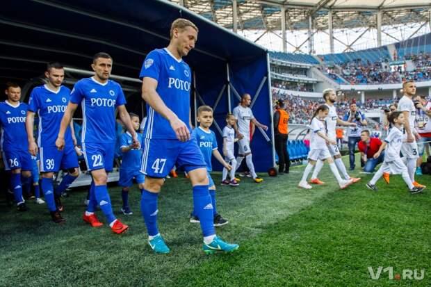 У 7 игроков «Ротора» обнаружен коронавирус перед матчем с «Краснодаром»