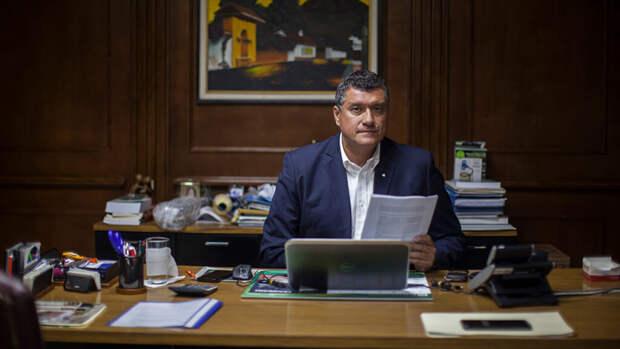 Вице-президент Гватемалы Гильермо Кастильо