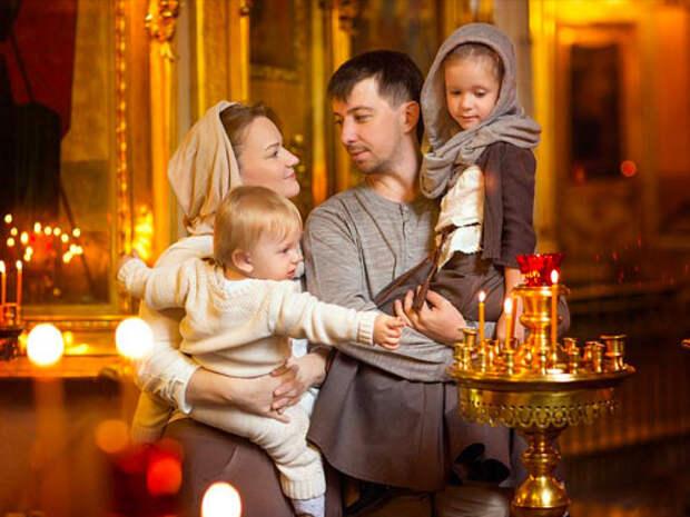 Молитвы о сохранении семьи и любви.